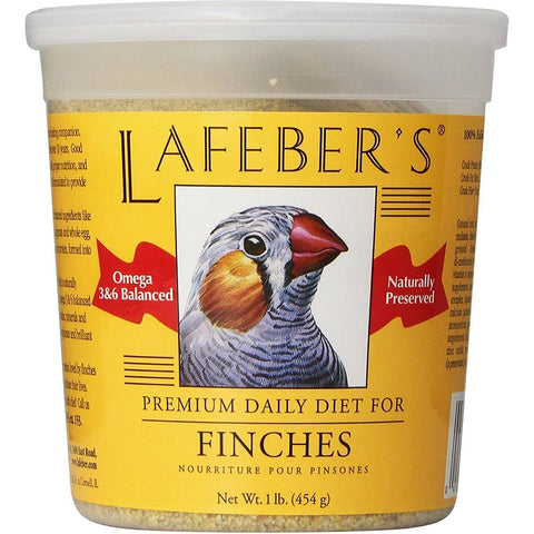 Lafeber Premium Daily Diet Finch Bird Food 1lb