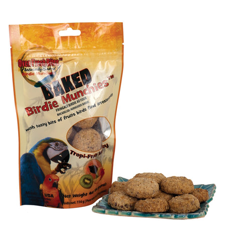 Baked Birdie Tropi-Fruit Medley Bird Treats, 4 oz.
