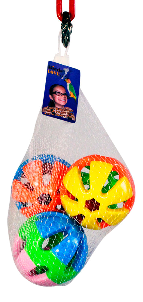 "Plastic  Ball, 3"" (3/pack)"