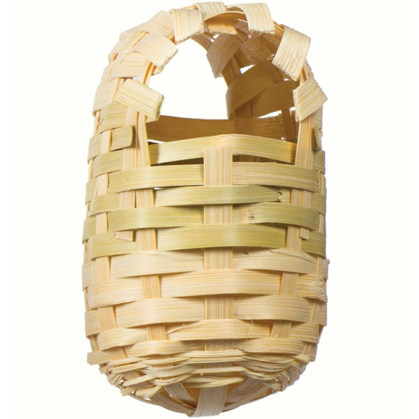Bamboo Covered Finch Bird Twig Nest