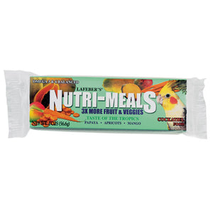 Lafeber's Nutri-Meals Taste of Tropic for Cockatiel 20z (12/case)