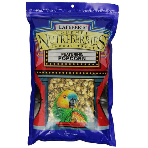 Lafeber's Nutri-Berries Parrot Treat Popcorn 4oz