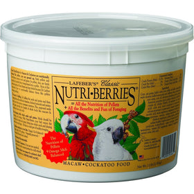 Lafeber Classic Nutri-Berries Macaw & Cockatoo Bird Food 3.5lb