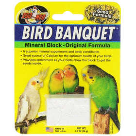 Zoo Med Bird Banquet Veggie Mineral Treat, Small