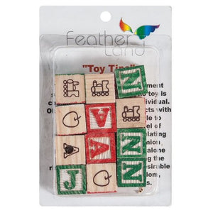 3/4 in. x 3/4 in. Abc Blocks - Pack of 12