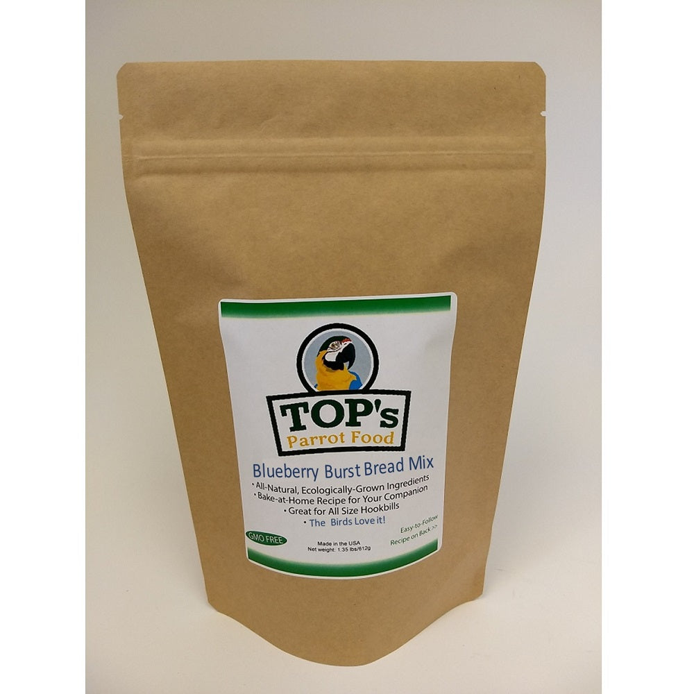 TOP's Premium Birdie Bread Mix, Blueberry Burst, 1.35 lbs