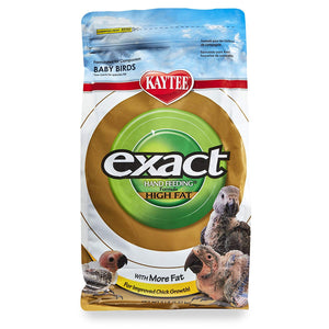 Kaytee Exact High Fat Hand Feeding Baby Bird Food, 5 lbs