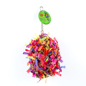 Sweet Feet and Beak 7-inch Diameter Super Shredder Ball, Large