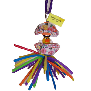 Fun For Fids Quackers Small Bird Toy