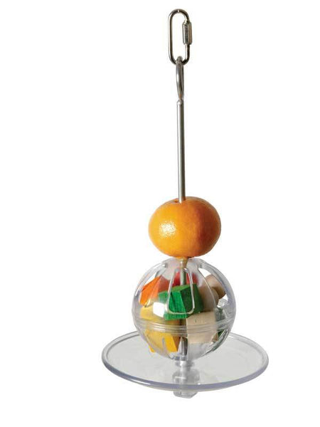 Fillable 3-Ball and Kabob Pet Feeder