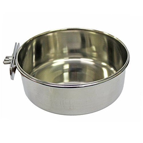 Stainless Steel Coop Cup w/ Clamp, 30 oz