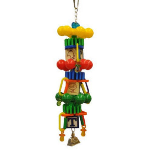 Spin Tower Bird Toy