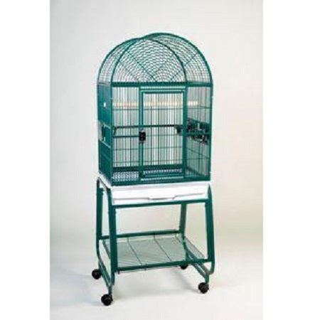 "22""x17"" Dometop Cage, Brass"
