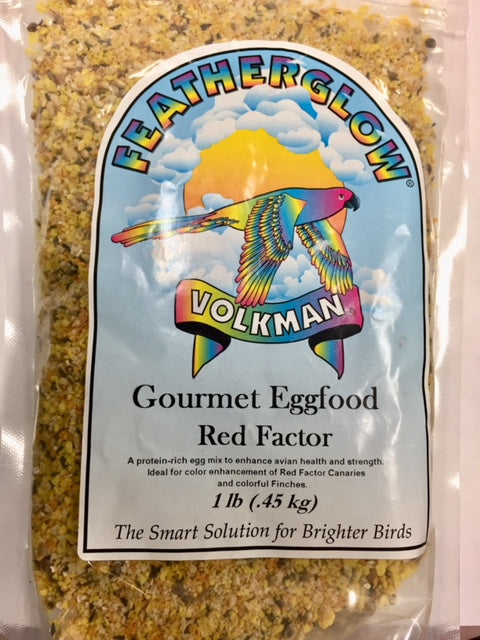 Volkman Featherglow Red Factor Eggfood, 2 lb