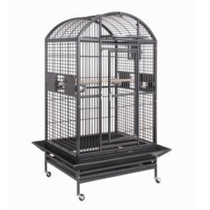 "36""x28"" Dometop Cage, Black"