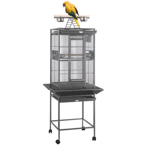 "18""x18"" Playtop Cage, White"
