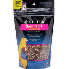 Ecotrition Song Plus Canary & Finch 8 oz