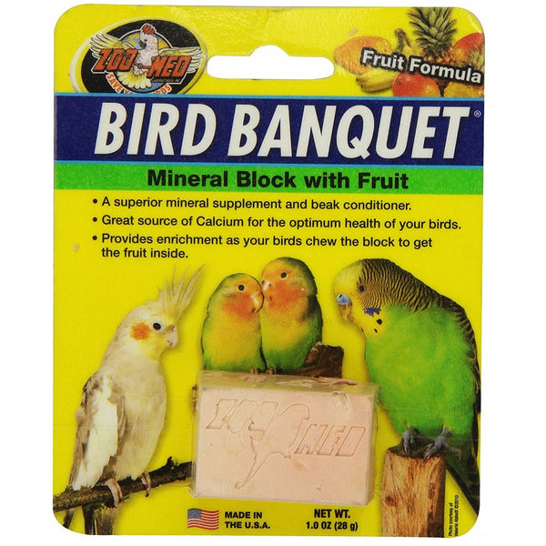 Zoo Med Bird Banquet Mineral Treat, Small, 1 oz