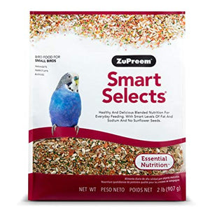 Zupreem Smart Selects for Small Birds, 2 lbs