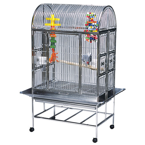 "Featherland Folding Stainless Steel Cage 24"" x 36"""