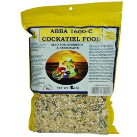 ABBA Cockatiel Food 1600c 5lb