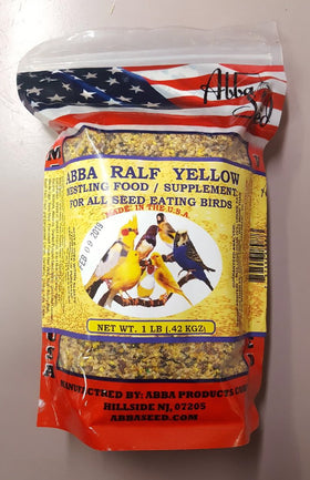 Abba Ralf Yellow Nestling Food 1lb