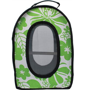 A and E Cage Co. Soft Sided Travel Bird Carrier, Large Green