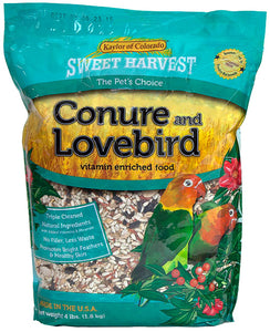 Sweet Harvest Conure and Lovebird 4lb