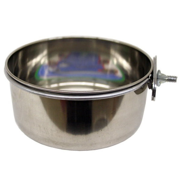 Stainless Steel Coop Cup w/ Clamp, 10 oz