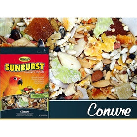 Higgins Sunburst Gourmet Food Mix for Conures, 3 lbs