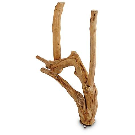 Java Wood Natural Multi Branch Bird Perch Small