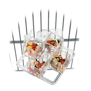 Four Corners Mount Foraging Toy