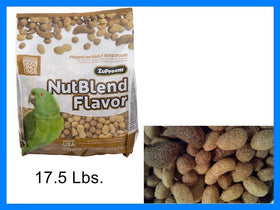Zupreem NutBlend Flavor with Natural Nut Flavors PARROTS & CONURES, 17.5 lb
