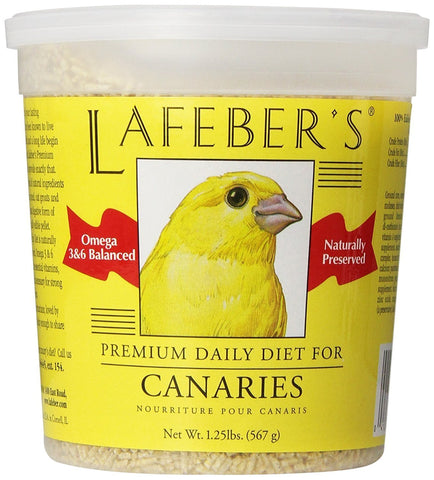 Lafeber Company Canary Pellets Premium Daily Diet Pet Food, 1.25-Pound