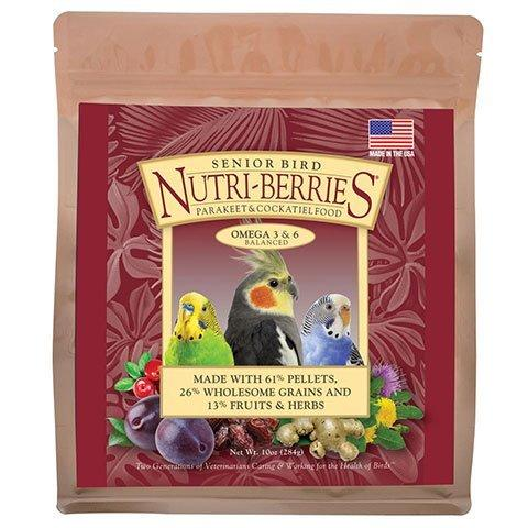 LAFEBER'S Senior Bird Nutri-Berries for Parakeet & Cockatiel - 3 lb