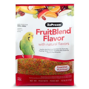 Zupreem FruitBlend® Small Parakeet Food, 10 lb