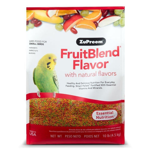 Zupreem FruitBlend® Small Parakeet Food 10 lb