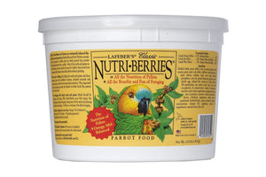 Lafeber's Nutri-Berries Parrot Food, 3.25 lbs
