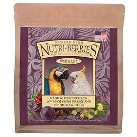 LAFEBER'S Senior Bird Nutri-Berries for Macaw & Cockatoo - 3 lb