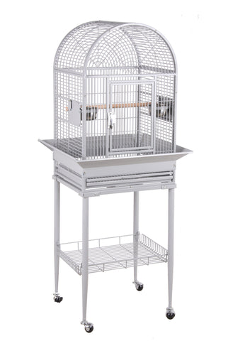 "18""x16"" Dome Top Bird Cage - Green"
