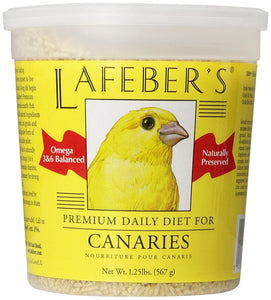 Lafeber Company Canary Pellets Premium Daily Diet Pet Food, 5-Pound - 5 lbs