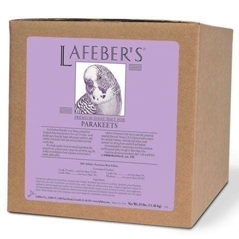 LAFEBER'S Premium Daily Diet for Parakeets 25lb