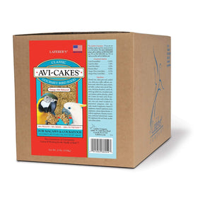 Lafeber's NON-GMO  Original Avi-Cakes for Macaws and Cockatoos 20lb