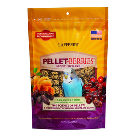 LAFEBER'S Pellet-Berries for Parakeets, 10 oz