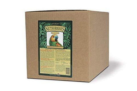 Lafeber's Gourmet Tropical Fruit Nutri-Berries for Parrots 20-Pound Box