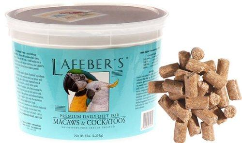 Lafeber Company Macaw Pellets Premium Daily Diet Pet Food, 5-Pound - 5lb