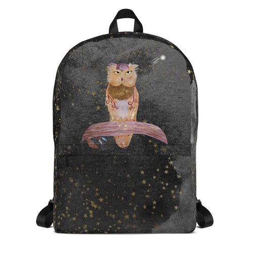Night Owl Backpack - Sarikaya Art