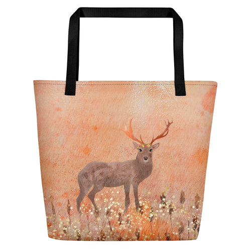 Deer Beach Bag - Sarikaya Art