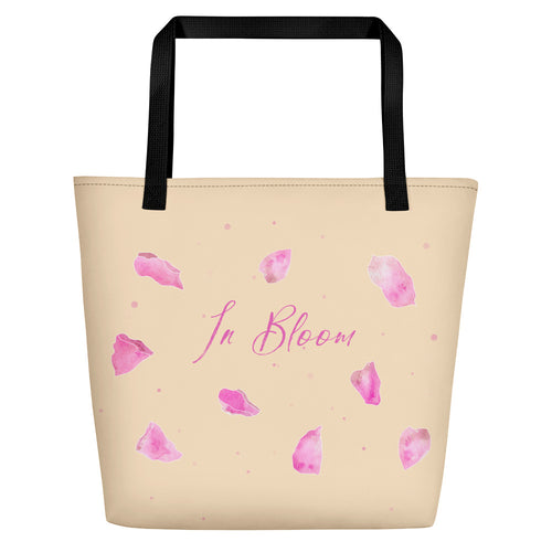 In Bloom Beach Bag - Sarikaya Art