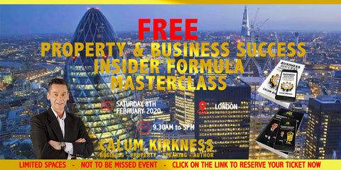 FREE Property Investment and Business Success Masterclass